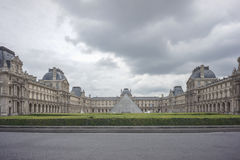 Louvre in Paris, France Stock Image