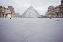 Louvre in Paris, France Stock Photography