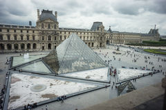 Louvre in Paris, France Royalty Free Stock Photography