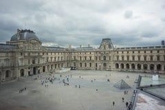 Louvre in Paris, France Stock Photo