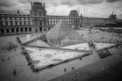 Louvre in Paris, France Royalty Free Stock Image