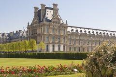 Louvre Paris from Jardin des Tuileries - France Stock Photos