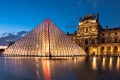 The Louvre - Paris landmark Stock Photo