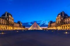 The Louvre - Paris landmark Stock Image