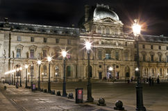 The Louvre in Paris. The magnificent Louvre Museum in Paris Stock Photos