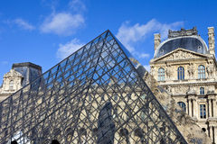 The Louvre in Paris Stock Image