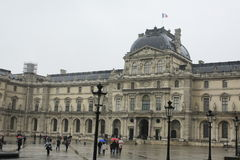 Louvre Paris Museum Historic Building France Royalty Free Stock Photo