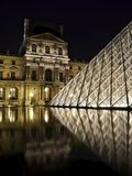Louvre, Paris, Pyramid Stock Photos