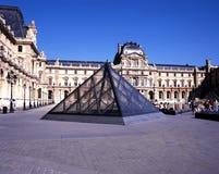 The Louvre, Paris. Stock Images