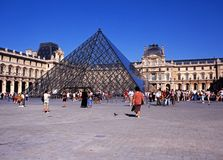 The Louvre, Paris. Royalty Free Stock Photos
