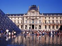 The Louvre, Paris. Stock Image