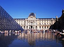 The Louvre, Paris. Stock Image