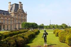 Louvre Park, Paris Royalty Free Stock Images