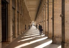 Louvre Passage royalty free stock photos