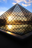 Louvre Pyramid I Royalty Free Stock Image