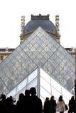 Louvre Pyramid Stock Photos