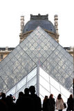 Louvre Pyramid Stock Photos