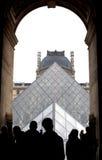 Louvre Pyramid Royalty Free Stock Photo