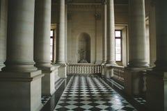 Louvre-Spalten Stockbilder