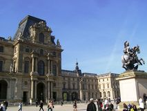 Louvre square Royalty Free Stock Photo