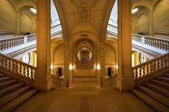 louvre symetria Zdjęcia Royalty Free