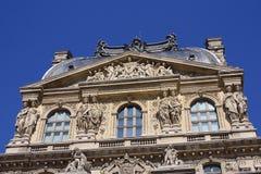 Louvre tower Stock Photos