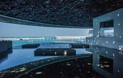 Louvre van Abu Dhabi stock foto