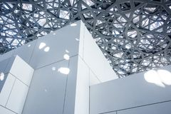 Louvre van Abu Dhabi stock foto's
