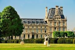 Louvre van Jardin des Tuileries Royalty-vrije Stock Foto's