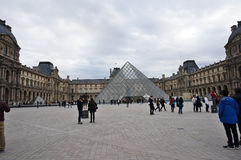 The Louvre Royalty Free Stock Image