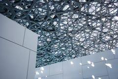 Louvre von Abu Dhabi Stockfotografie