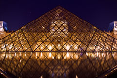 The Louvre Royalty Free Stock Photography
