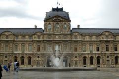 Louvre wewnętrzny jard Fotografia Royalty Free