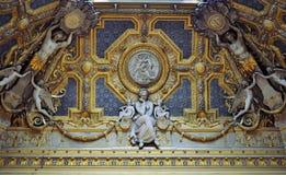 Louvre wnętrze Zdjęcia Stock