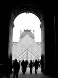 Louvremuseum Fotografering för Bildbyråer