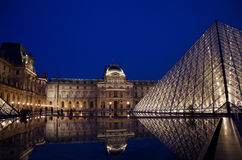Louvremuseum Royaltyfria Foton