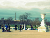 Louvremuseum, elegant, Paris, Frankreich, Europa, Eingang, stockfotografie