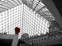 Louvremuseum III Stock Afbeeldingen