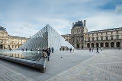 Louvremuseum in Parijs royalty-vrije stock foto's