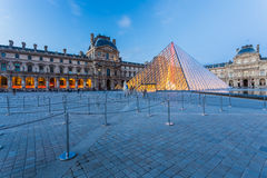Louvremuseum in Parijs royalty-vrije stock foto