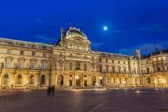 Louvremuseum in Parijs royalty-vrije stock afbeelding