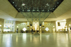 Louvremuseumshoppinggalleria Arkivbild
