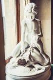 Louvremuseumskulptur arkivbild