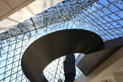 Louvrepyramid Fotografering för Bildbyråer