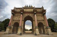 Louvres carousel Zdjęcia Stock