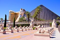 Louxor, Las Vegas Photos stock