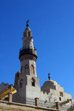 Louxor mosque and minaret . Stock Images
