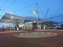 Lové Checo do ¡ de Hradec Krà do terminal de ônibus Fotografia de Stock Royalty Free