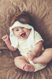 Lovable baby Stock Image