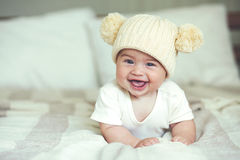 Lovable baby Stock Images
